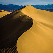 Mesquite Flat Sand Dunes in Death Valley National Park, CA at sunrise.  National Park Photograpy by Alex Wilson.