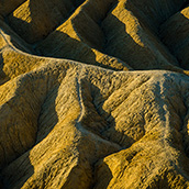 Sunrise at Zabriskie Point in Death Valley National Park, CA. National Park Photograpy by Alex Wilson.