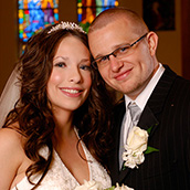 Wedding of Ashley and Brian Hardman at Our Lady Of Fatima in Huntington, WV.  Wedding photography by Alex Wilson.