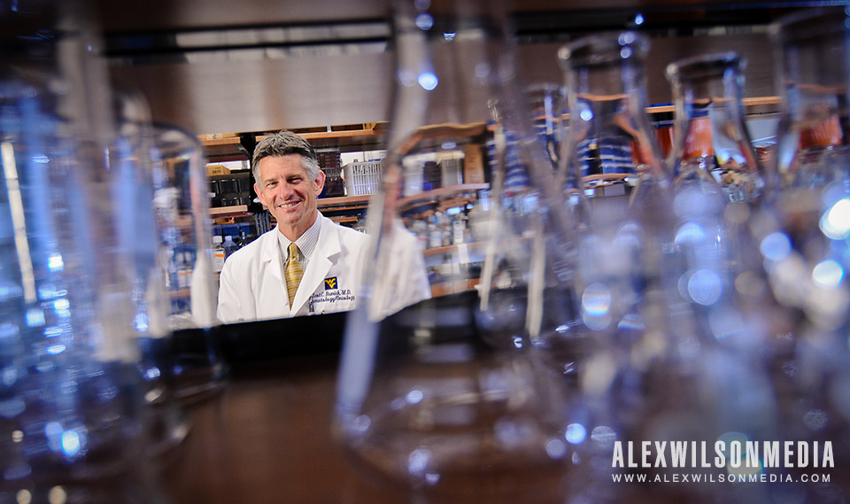 Scot C. Remick, MD, director of WVU's Mary Babb Randolph Cancer Center