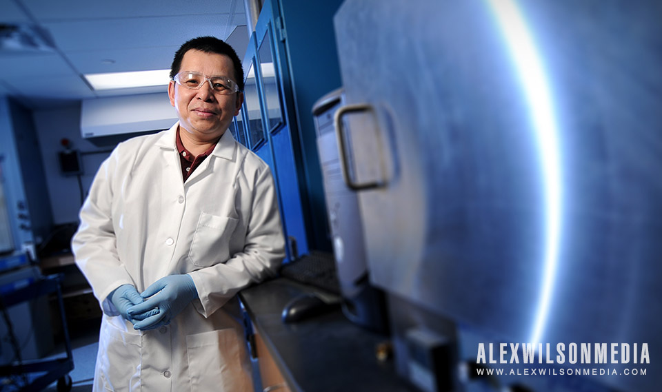 Nick Wu, Professor of Mechanical and Aerospace Engineering at the WVU Benjamin M. Statler College of Engineering and Mineral Resources